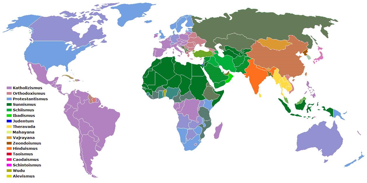 An welchem Ort der Erde bist du am weitesten weg von allen Menschen?