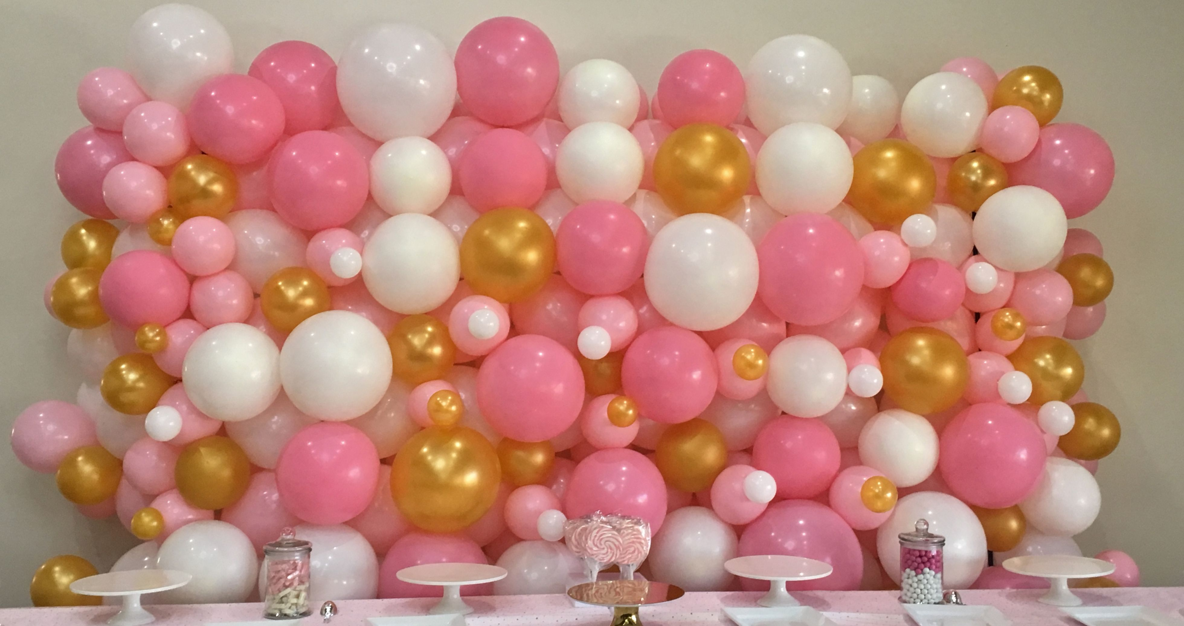 Image result for BALLOON WALL | Balloon wall, Balloons, Wall