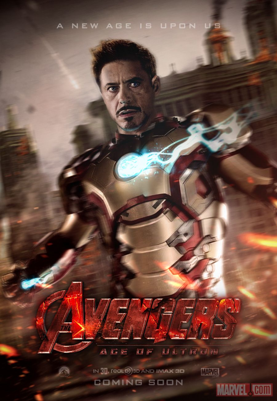 Avengers Age Of Ultron By Iloegbunam On Deviantart: Avengers: Age Of Ultron Teaser Poster By SkinnyGlasses