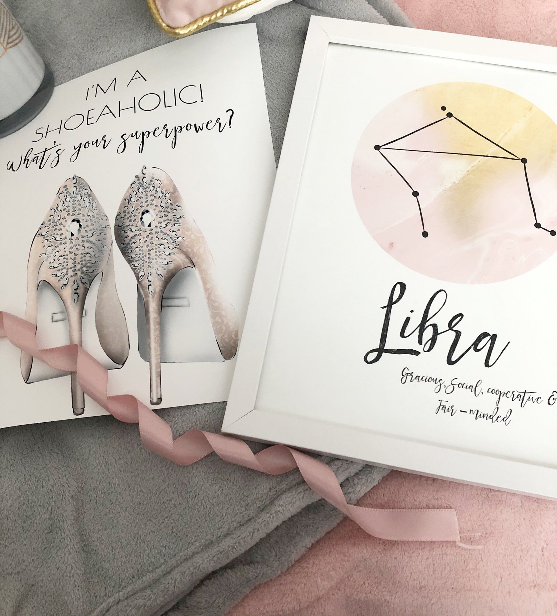 Etsy Print flatlay Etsy Prints Flatlay im a shoeaholic whats your superpower