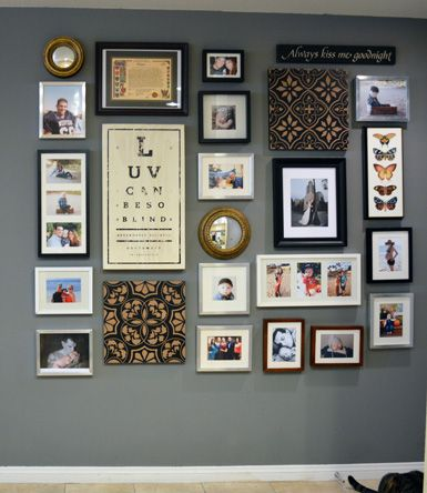 Entry Way   Photo Wall   Art   Picture Frames