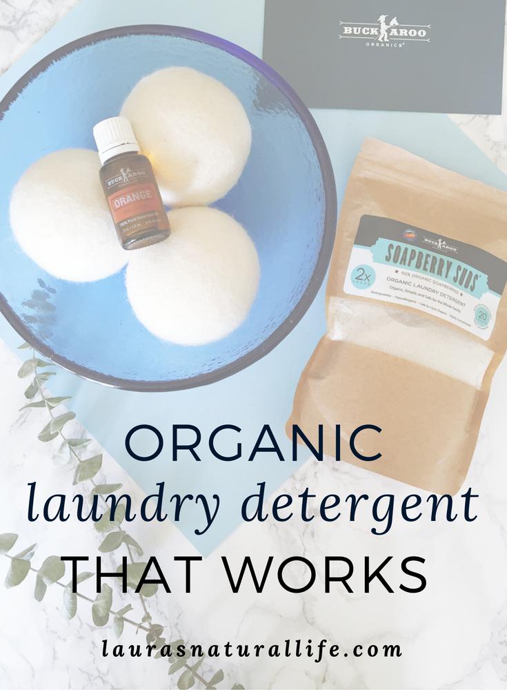 Buckaroo Organics Soapberry Suds Organic Laundry Detergent Bundle Review Laura S Natural Life Organic Laundry Detergent Hypoallergenic Laundry Detergent Laundry Detergent