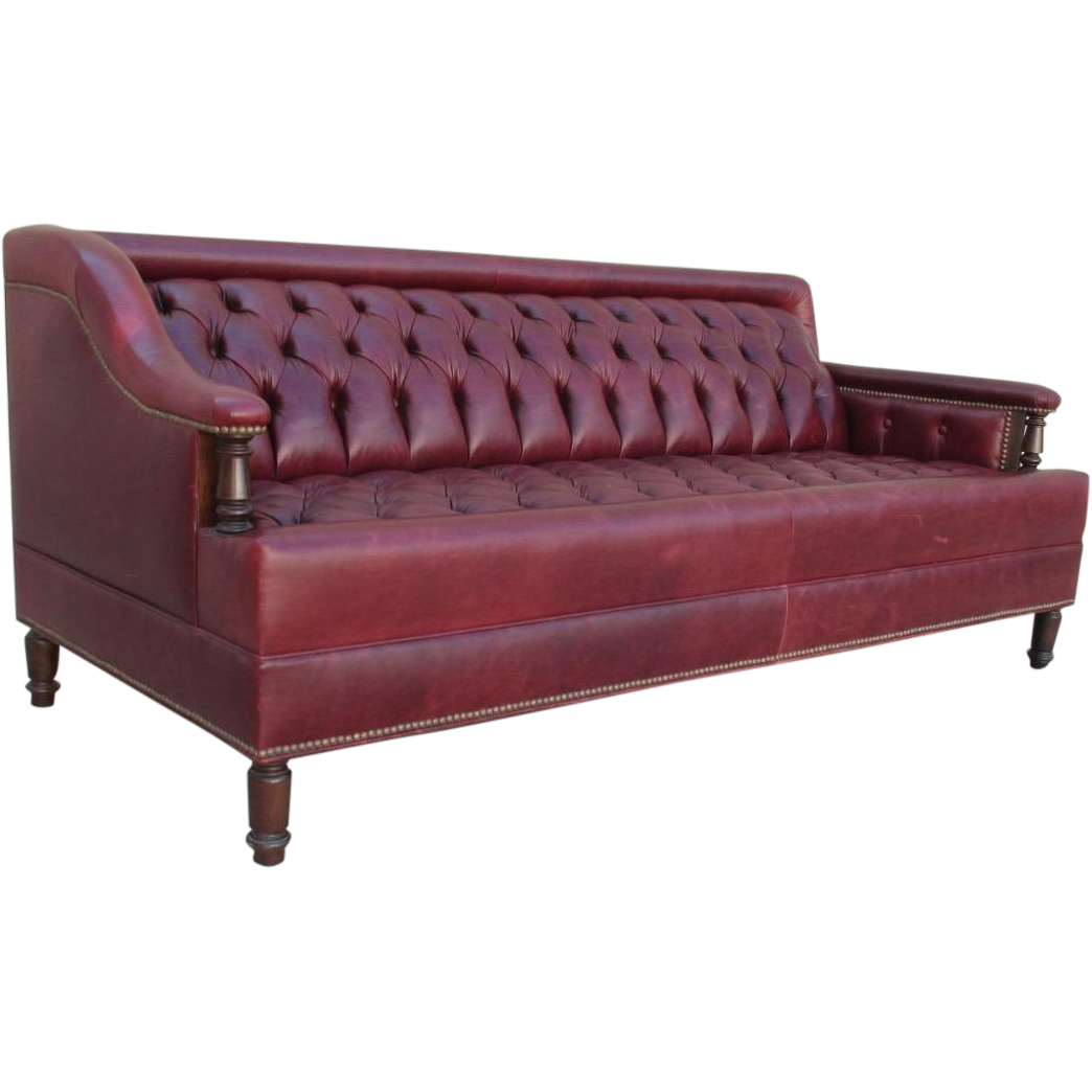 Sofa Couch Or Chesterfield English Chesterfield Leather Sofa Gentleman S Pub Sofa Couch