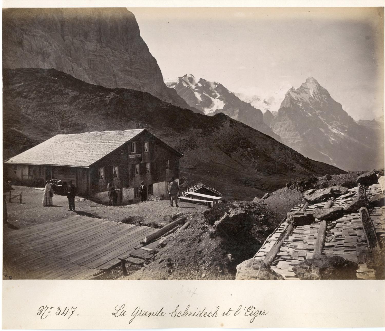 Suisse, La Grande Scheideck et l'Eiger     #Europe #Suisse_Nouveautés #Alpes_Suisses