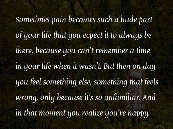 At The Moment You Realize Youre Happy Words To Live By In This