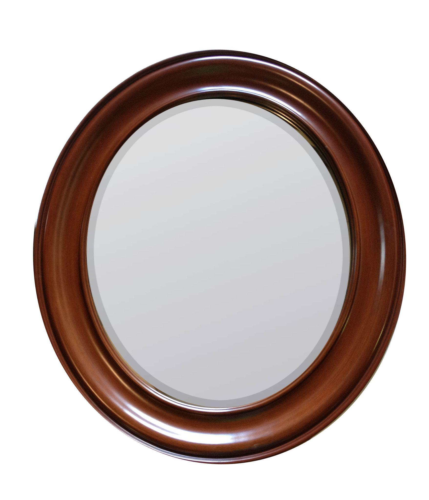 Booker Mirror Gesso over wood