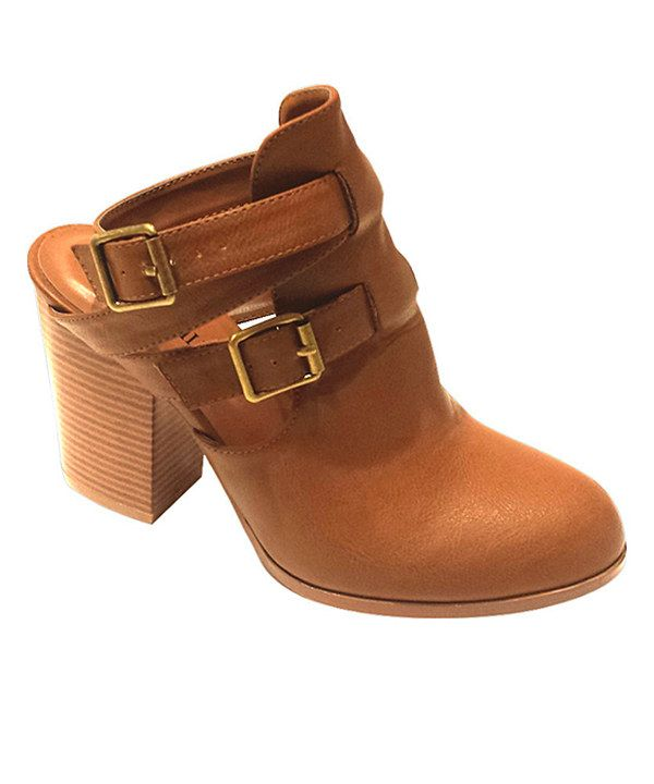 Look at this Brown Ellen Bootie on #zulily today!
