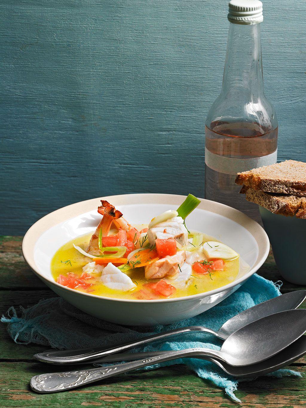 fischsuppe s teois fisch meeresfr chte pinterest fischsuppe suppen und fische. Black Bedroom Furniture Sets. Home Design Ideas