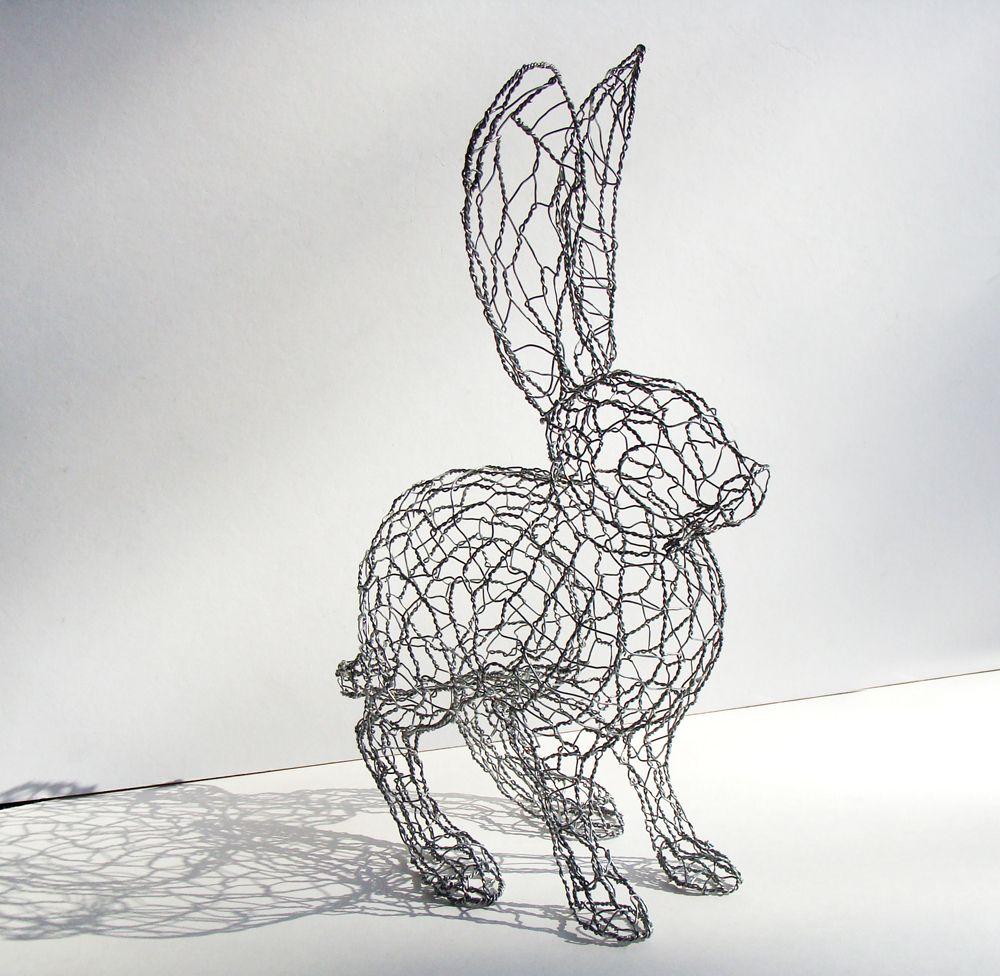 HARE: Sculpture - Chicken Wire. | HARE | Pinterest | Chicken wire ...