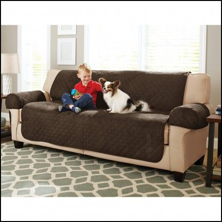 Faux Leather Couch Cover