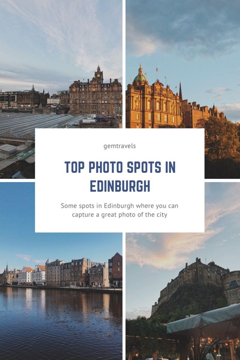Some spots in Edinburgh offering up great photo opportunities of the city #edinburgh #edinburghcity #thisisedinburgh #visitscotland #scotland #travelwriter #travelguide #travelphotography