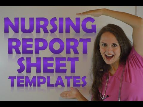 Nursing Report Questions to Ask During Nurse Shift to Shift - shift report template