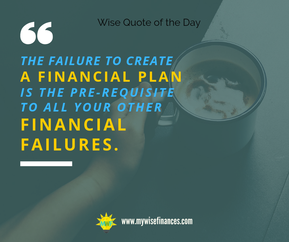 It is critical that you need to plan your finances better