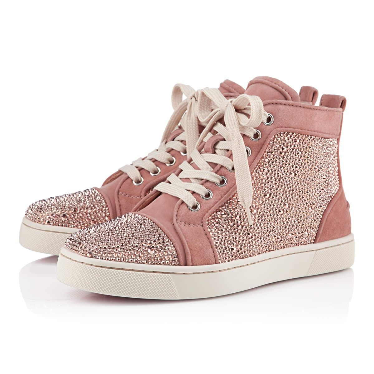 15569166609 Louis Suede and Strass Sneakers