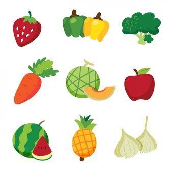 Photo of Diseño de frutas y verduras
