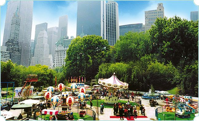 Central Park Victorian Gardens - Yeah he\'s kinda a little Central ...