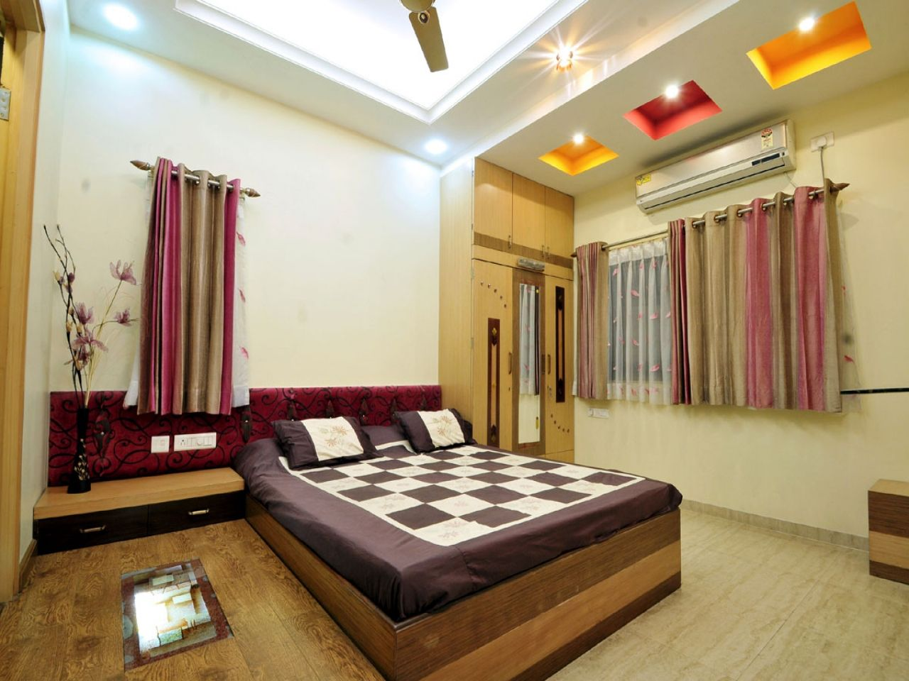 Modern Fan Lights Master Bedroom False Ceiling Luxury Bedroom False - Fan lights for bedrooms