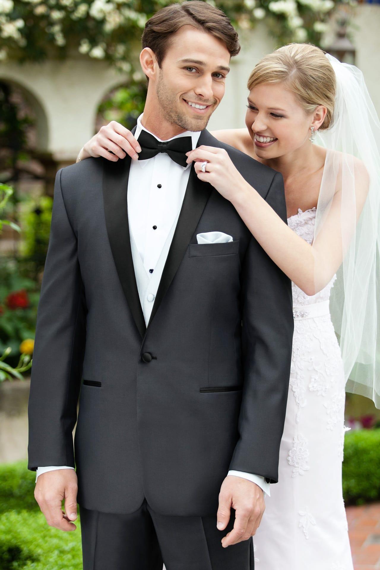 Tony Bowls Grey Portofino Slim Fit Tuxedo | Jim\'s Formal Wear ...