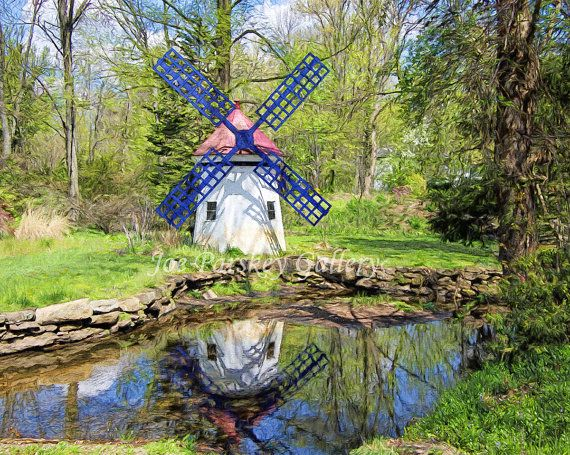 Attractive A Hidden Gem, West Hartford, CT, Windmill Print, Art Photo, Home Decor,  Wall Art, Connecticut Photography, Archival Print, By Joe Parskey