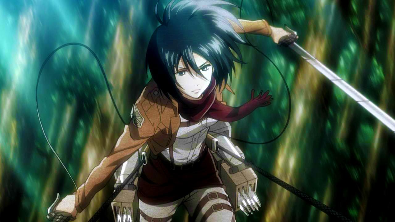 Mikasa Ackerman | ATTACK!!! ON!!! TITAN!!!! | Anime characters