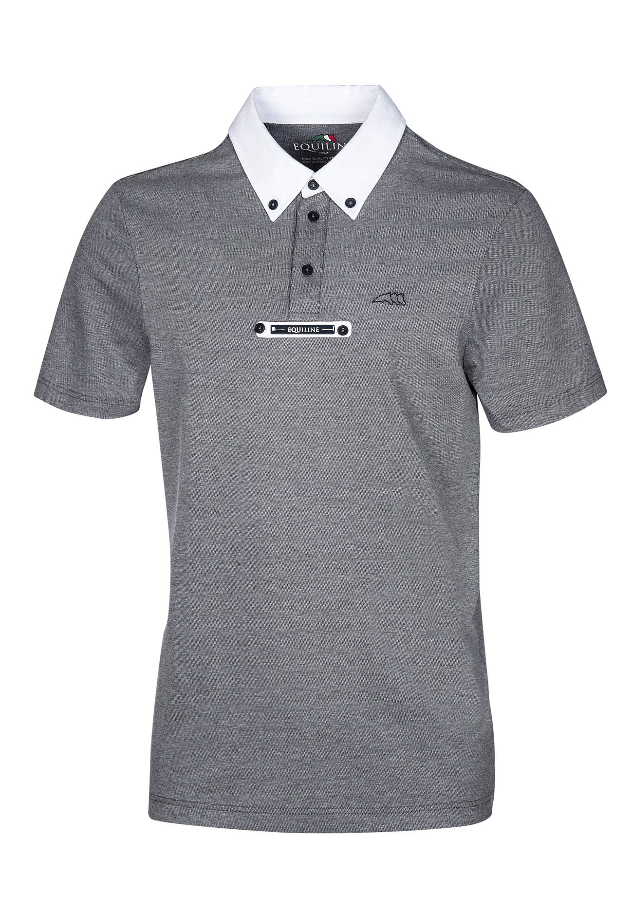 078d2a55a Man short slave competition polo. Basic poloshirt made of breathable and  stretch solid color piquet