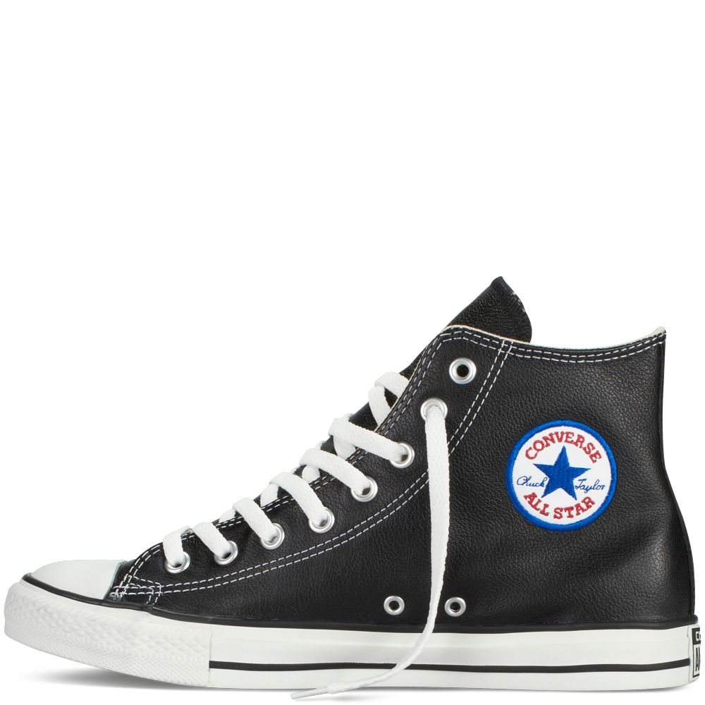 converse all star leather. chuck taylor all star leather negro black converse
