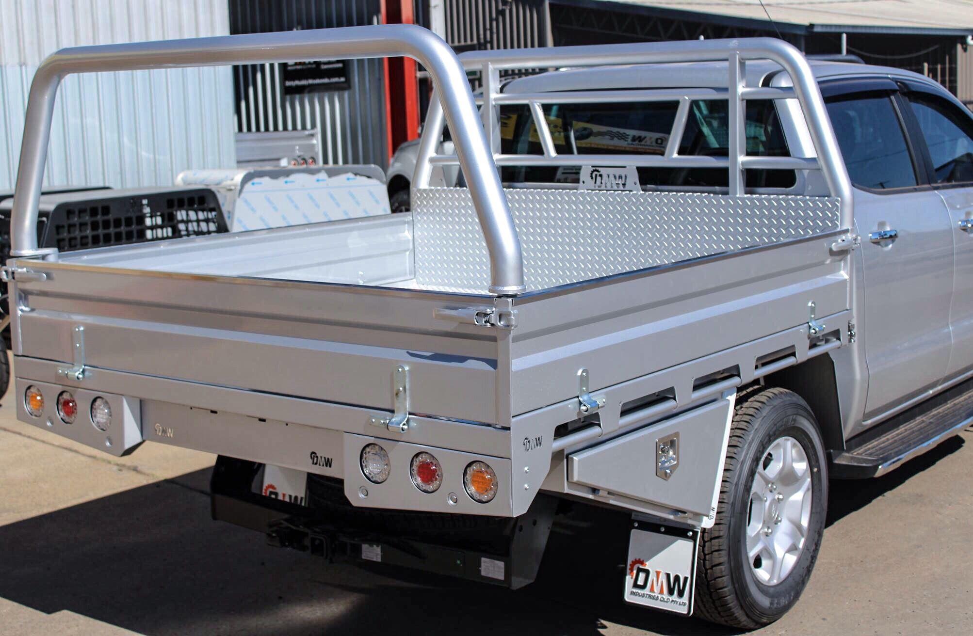 Dmw Premium Steel Tray Ute Trays Ford Ranger Ute
