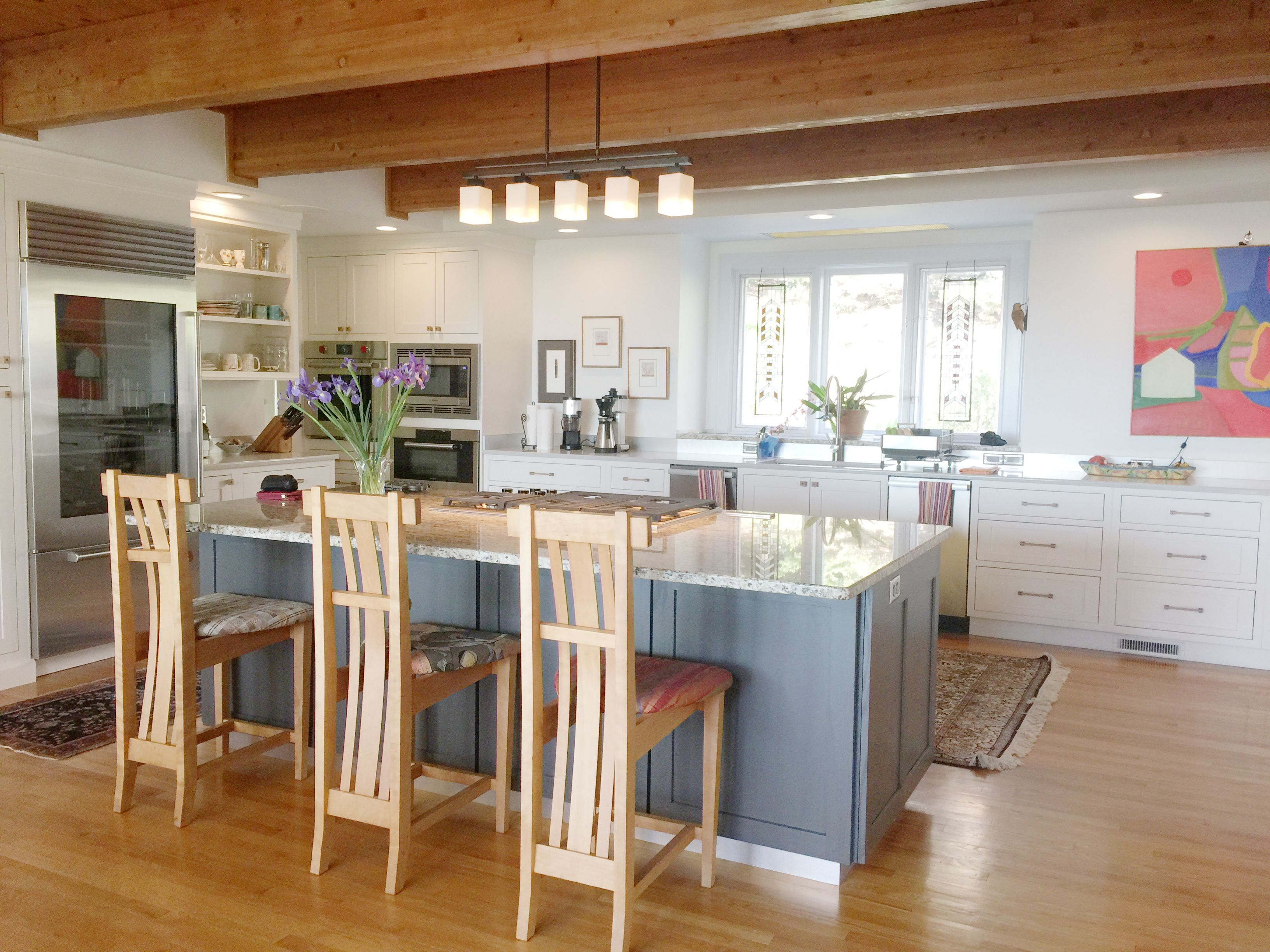 A kitchen remodel in Asheville, North Carolina was ...