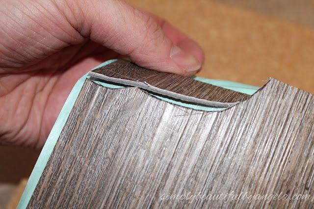 Updated Peel Amp Sick Wood Look Floors Tutorial Diy