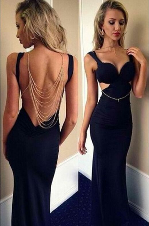 bf9df4a2181 Women Sexy Prom Ball Gown Maxi Long Party Cocktail Evening Formal ...
