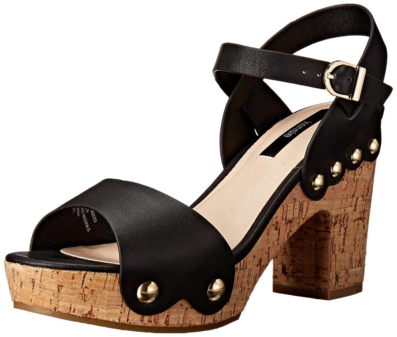 ec187a90f7fd kensie Women s Belmont Platform Sandal. Cork platform sandal. Women s Shoes