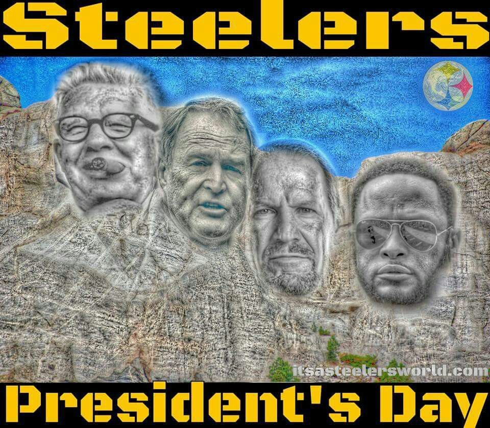 STEELERS PRESIDENT DAY Pittsburgh steelers funny