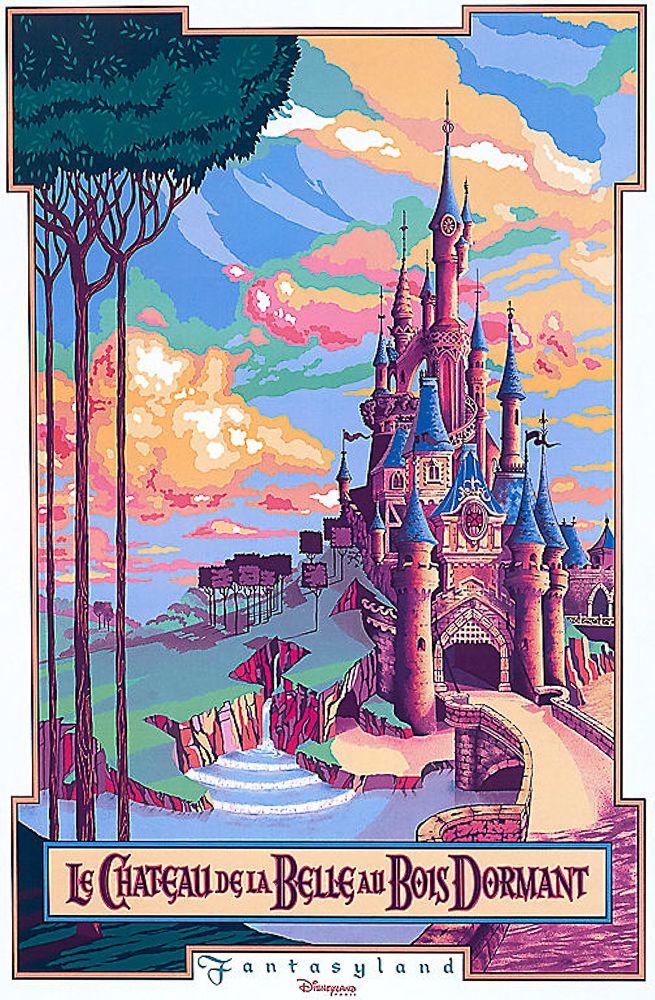 Photo of Disneyland Paris Attraktionsplakate   Hallo Disneyland: Der beste gu …