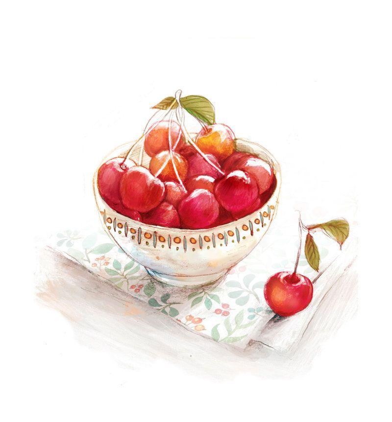 cherry by nhienan.deviantart.com on @deviantART
