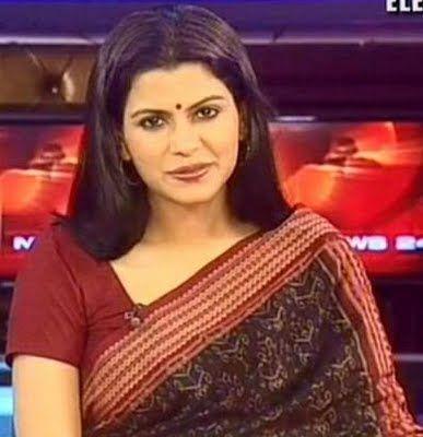 Nidhi Razdan In Saree Telewood Pinterest India People