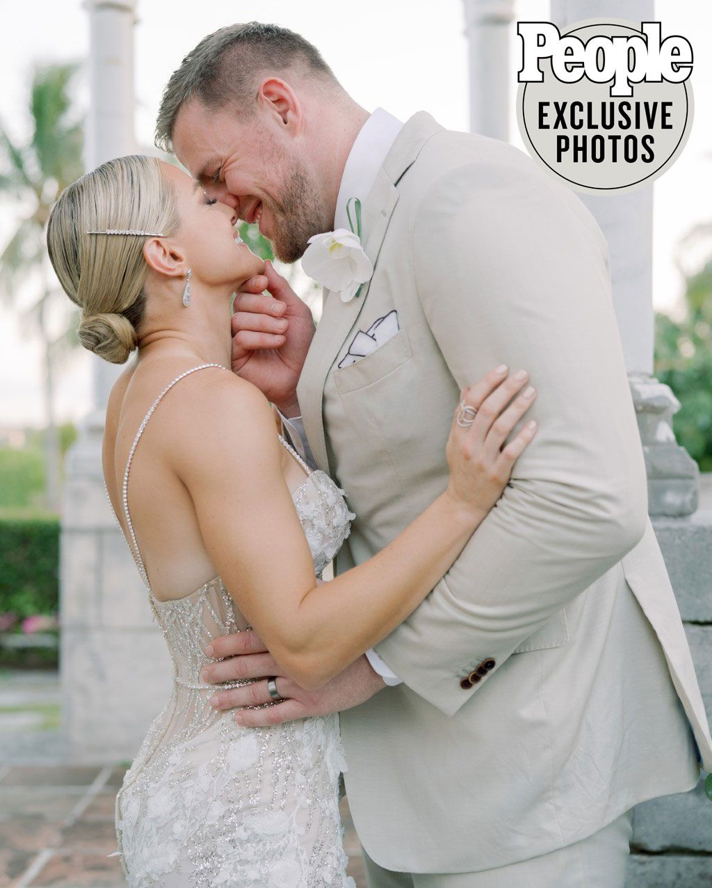 JJ Watt Shares Photos From Wedding to Kealia Ohai