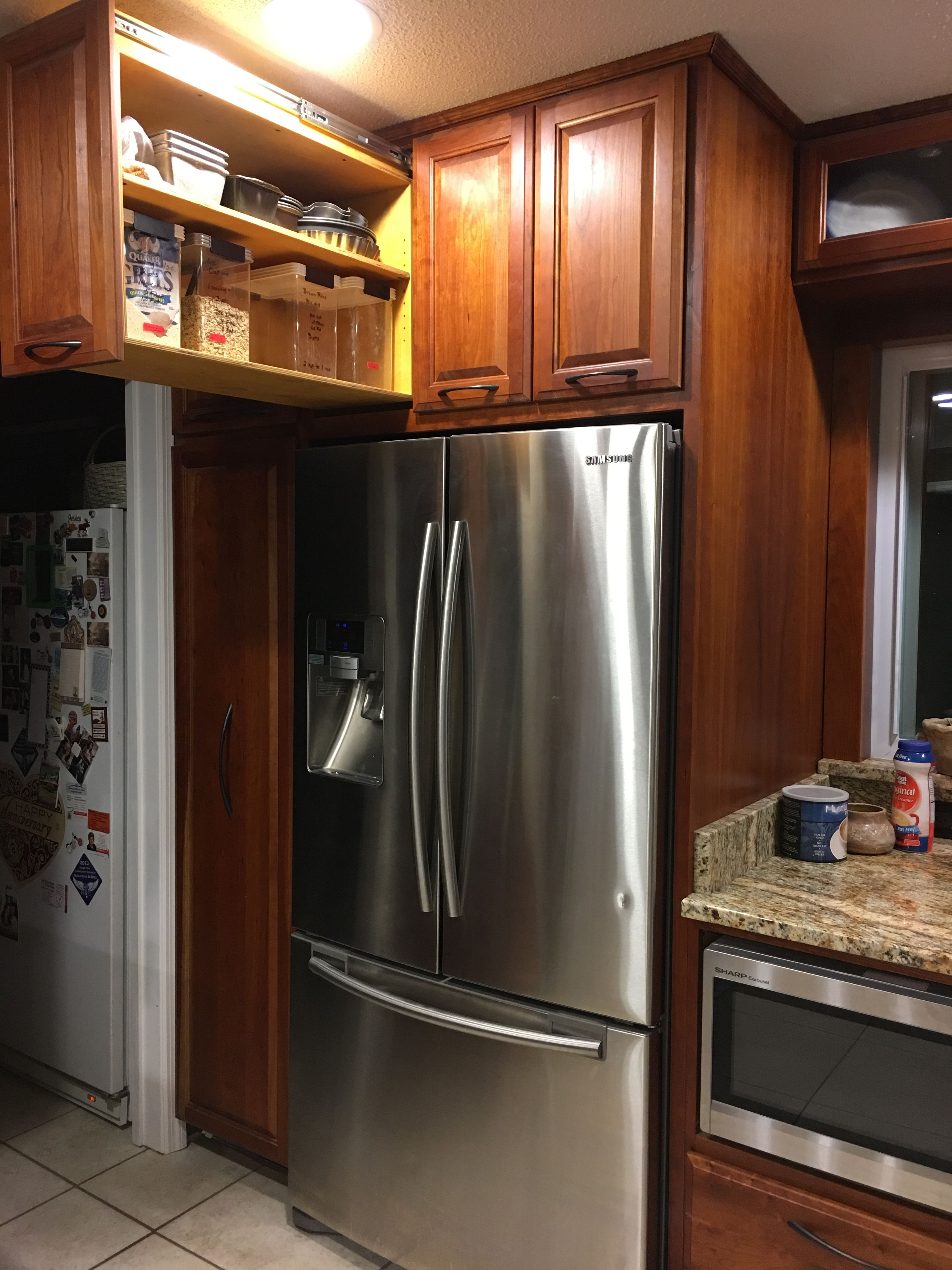 When My Dad Built My Kitchen Cabinets Seven Years Ago He Made