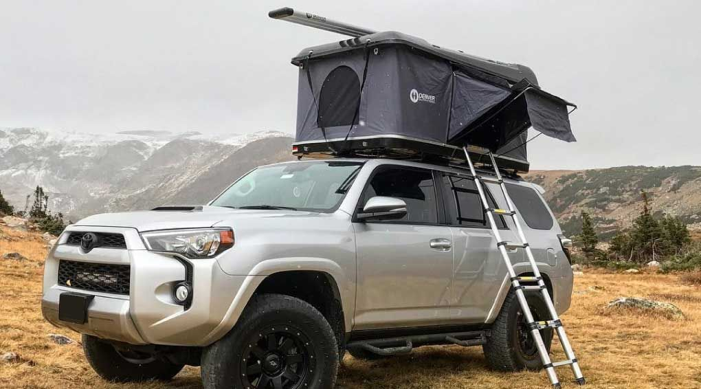 Denver Outfitters It Car Top Tent Roof Top Tent Toyota 4runner