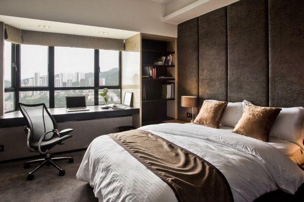 Home Office im Schlafzimmer wie man einen funktionalen