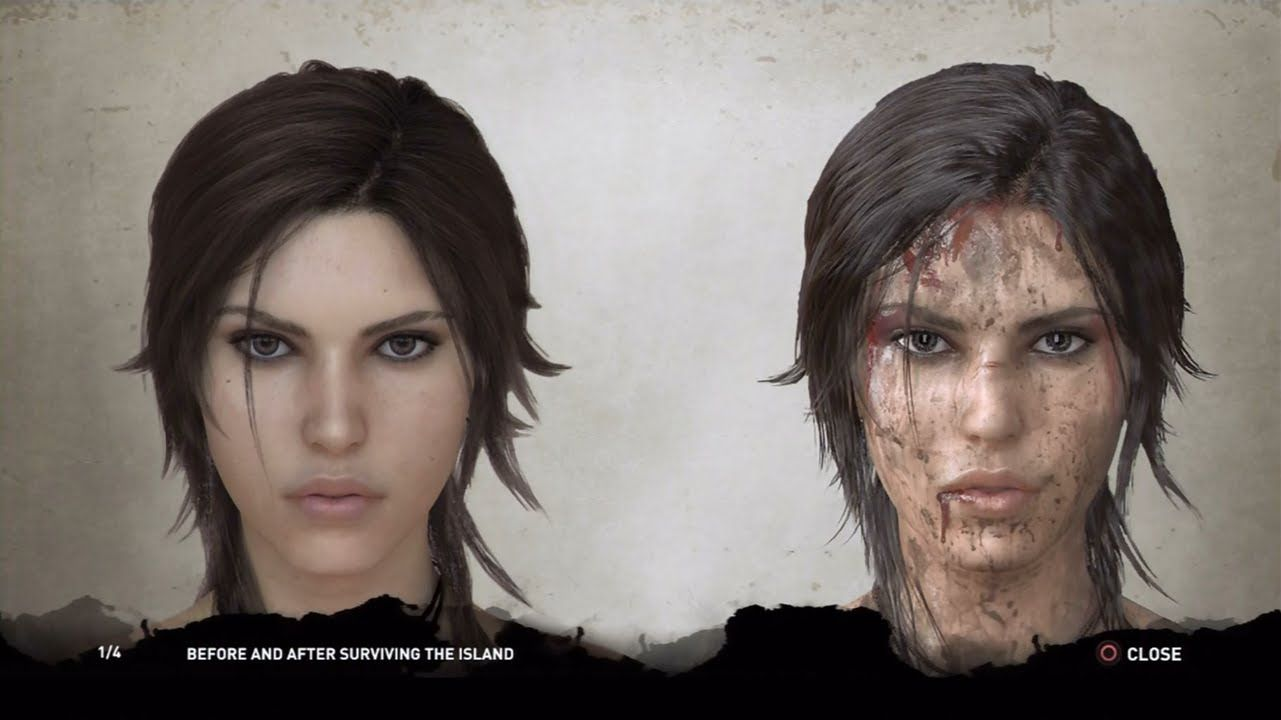 Tomb Raider 2013 Extras Concept Art Characters Hd 1080p