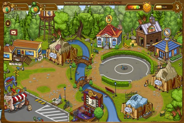 Zoo Aufbauspiele