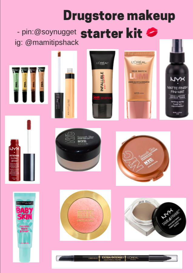 Soynugget drugstore makeup starter kit (plus mascara