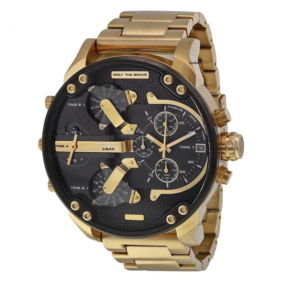 75dee69751 DIESEL DZ7333 XL Armbanduhr Chronograph Mr. Daddy 2.0 Herrenuhr NEU Farbe:  Gold in Uhren & Schmuck, Armband- & Taschenuhren, Armbanduhren   eBay!