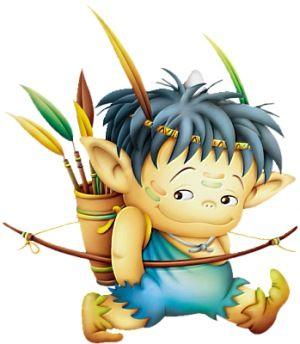 Toread ilustraciones de duendes infantiles hadas y - Ilustraciones infantiles antiguas ...