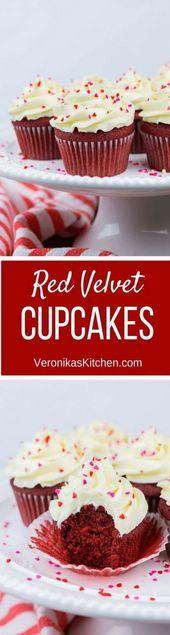 25 Ideeën voor Cupcakes Recepten Van Kras Vochtige Taarten Rood Fluweel