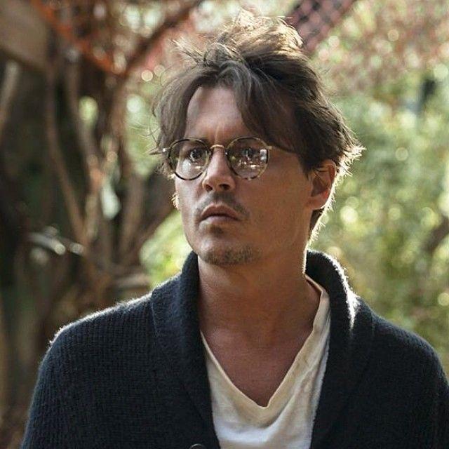 Johnny Depp wear MP-2 in Transcendence   Celebrity Sightings ... cbb500dd4bd3
