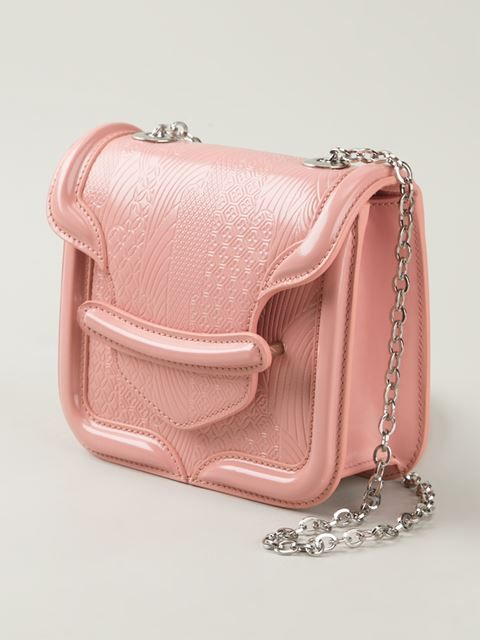4917f34adaa Alexander Mcqueen Mini 'heroine' Crossbody Bag - Luisa Boutique - Farfetch .com