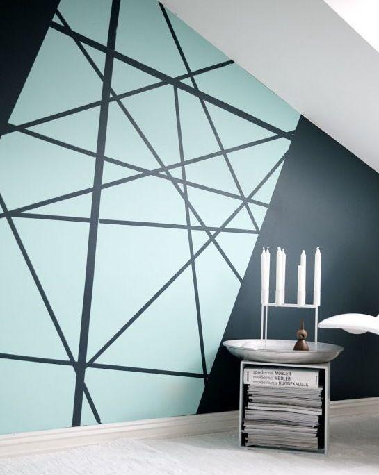 Pingl sur chambre parentale - Quel mur peindre dans une chambre ...