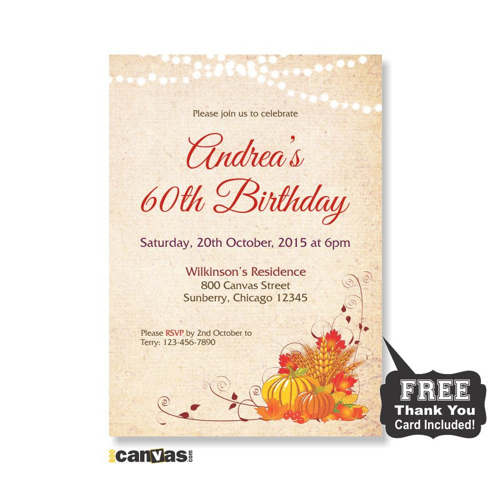 Fall birthday invitation adult birthday invitation fall autumn fall birthday invitation adult birthday invitation autumn birthday party 40th 50th 60th 70th 80th string lights shabby chic 240 filmwisefo