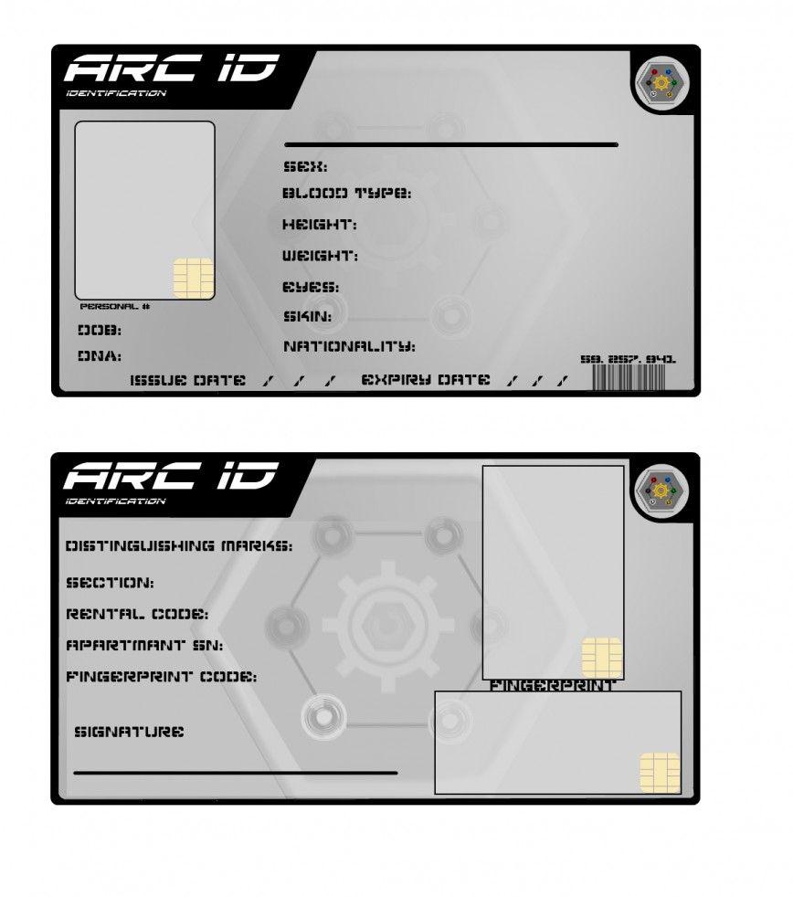 georgia id card template